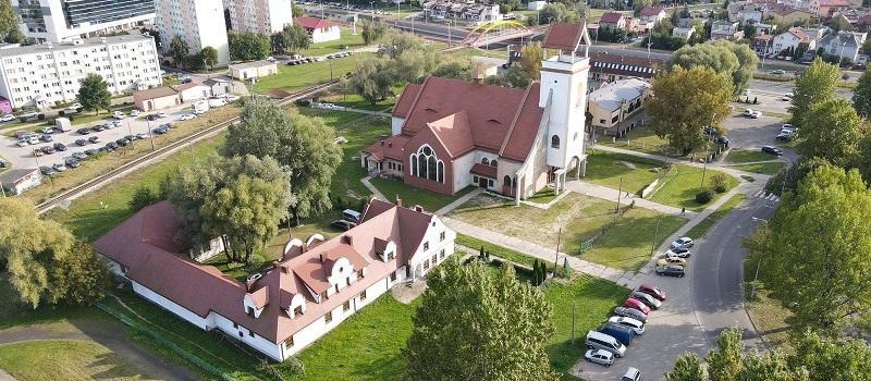 Nasz kościół – galeria zdjęć wykonanych dronem